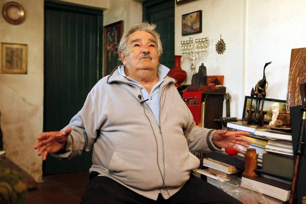 MUJICA INTERVIEW AT HIS HOUSE OUTSIDE MONTEVIDEO