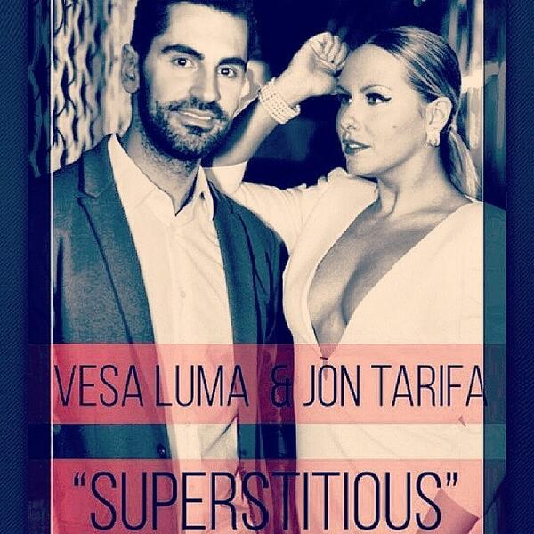 "Vesa Luma featuring Jon Tarifa ""SUPERSTITIOUS"""