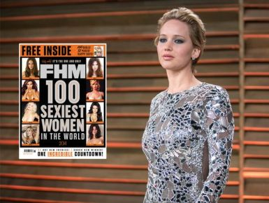 Jennifer Lawrence, femra më seksi në planet