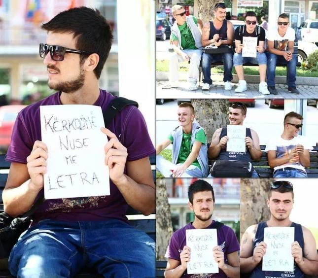 Të rinjtë e Kosovës lypin nuse me letra